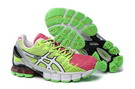 Women's Asics Gel Kinsei 4 Hot Pink Spring Green Green Yellow