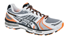 Asics Men's Gel Kayano 18 Dark Gray Orange Ivory