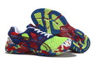 Asics Men's Gel Noosa Tri 7 Green Yellow Dark Blue Dark Red