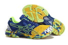 Asics Men's Gel Noosa Tri 7 Dark Orange Green Yellow SlateBlue