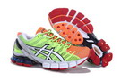 Asics Men's Gel Kinsei 4 Yellow Green Orange Red White