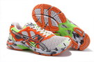 Asics Men's Gel Noosa Tri 7 Orange Red Silver White