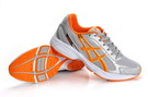 Asics Maverick2 Trainers Light Steel Blue Dark Orange Light Grey