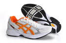 Asics Maverick2 Trainers White Smoke Seashell Dark Orange