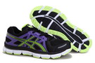 Women's Asics Gel Neo 33 Blue Violet Lime Green Black