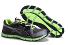 Men's Asics Gel Neo 33 Dark Slate Gray Black Green Yellow