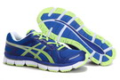 Men's Asics Gel Neo 33 Dark Blue Blue Yellow Green