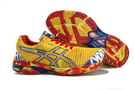 Men's Asics Gel Noosa Tri 7 Gold Dark Red Blue