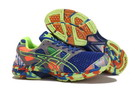Men's Asics Gel Noosa Tri 7 Royal Blue Slate Gray Green Yellow